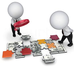 Как выглядит описание бизнес-процессов - два человечка