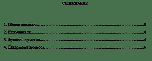 Управление бизнес-процессами компании - Регламент бизнес-процесса 1