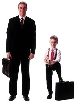 Ищем «идеального сотрудника» - взрослый и ребенок
